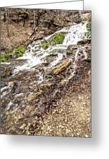 Decorah Iowa Waterfall Greeting Card