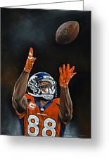 Demaryius Thomas Greeting Card