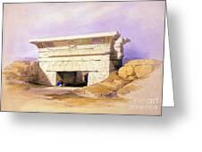 Dendera Temple Complex, 1938 Greeting Card