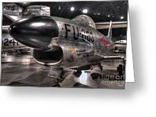 Dennis The Menace, North American, F-86d Sabre Greeting Card