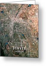 Denver 3d Render Satellite View Topographic Map Digital Art By Frank