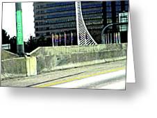 Denver Mile Marker Greeting Card