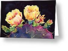 Desert Bloom 2 Greeting Card by Hailey E Herrera
