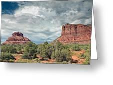 Desert View, Sedona, Arizona Greeting Card