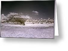 Desertic Landscape Greeting Card