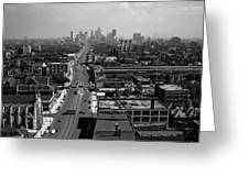 Detroit 1942 Greeting Card