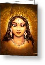 Devi Darshan Greeting Card