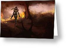 Diablo IIi Greeting Card