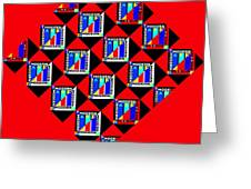 Diamond Red Greeting Card