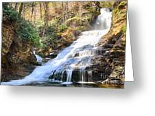 Dingmans Falls Greeting Card