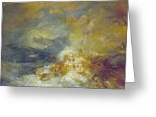 Disaster At Sea Greeting Card