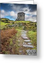 Dolbadarn Castle Snowdonia Greeting Card