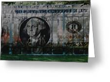 Dollar Bill Greeting Card