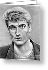 Dolph Lundgren Greeting Card