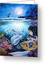 Dolphin Dream Greeting Card