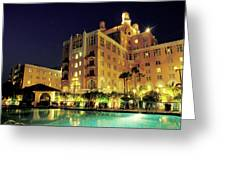 Don Cesar Beach Resort Hotel Greeting Card