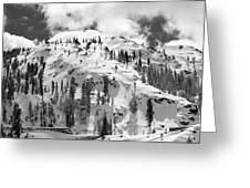 Donner Summit Greeting Card