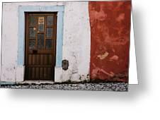 Door No 1 Greeting Card