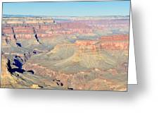 Down The Canyon Greeting Card