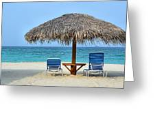 Cayman Down Time Greeting Card