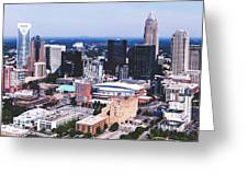 Downtown Charlotte Greeting Card
