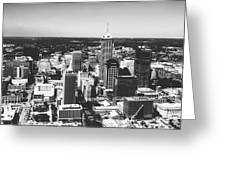 Downtown Indianapolis Greeting Card