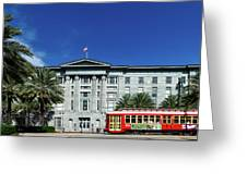 Downtown New Orleans Greeting Card