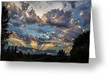 Dramatic Skies Greeting Card