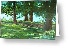 Dreaming On Fellows Lake Greeting Card