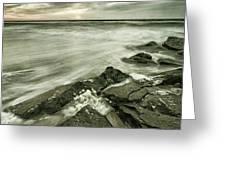 Dreamy Waves Greeting Card