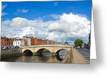 Dublin's Fairytales Around  River Liffey 2 Greeting Card