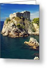 Dubrovnik King's Landing Fortress Greeting Card