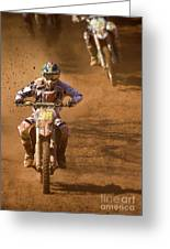 Dust And Mud Greeting Card