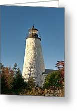Dyce Head Lighthouse Greeting Card