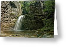 Eagle Cliff Falls Greeting Card