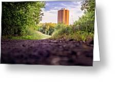 East Bank Trail Greeting Card