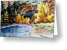 East Clear Creek Greeting Card