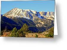 Eastern Sierras Greeting Card