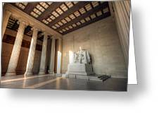 Echoes Of Liberty Greeting Card