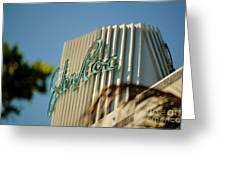 Eden Roc Hotel Miami Beach Greeting Card