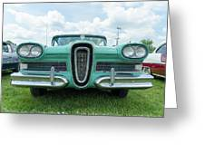 Edsel Greeting Card