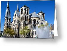 Eglise Notre - Dame En Vaux Greeting Card
