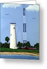 Egmont Key Lighthouse Greeting Card