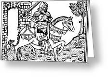 El Cid Campeador (c1040-1099) Greeting Card