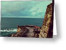El Morro San Juan Puerto Rico Greeting Card