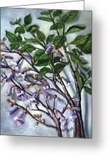 Empress Tree Greeting Card