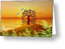 Enchanted Isle Greeting Card