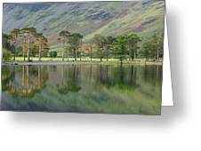 England, Cumbria, Lake District National Park Greeting Card