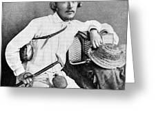 Ernst Haeckel, Naturalist And Artist Greeting Card