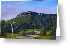 Escarpment Road Greeting Card